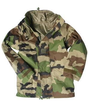 Military Jacket on French Military Heavy Duty Goretex Jacket