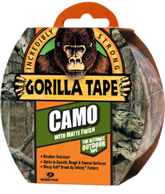 Gorilla Tape Camo One Of The Strongest Duct Tapes On