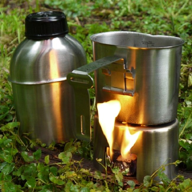 Pathfinder Stainless Steel Canteen Cook Set