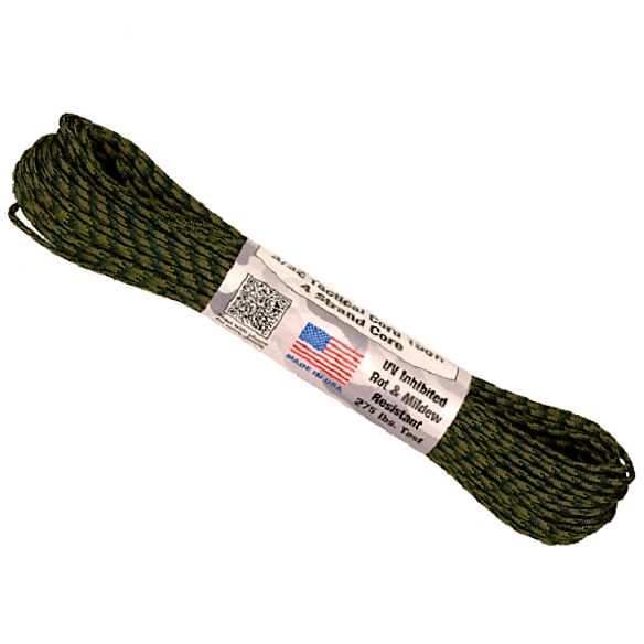 325 Paracord - US Made - Woodland Camouflage