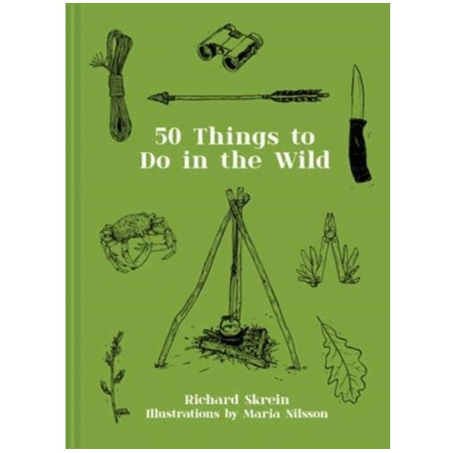 50 Things to do in The Wild Book