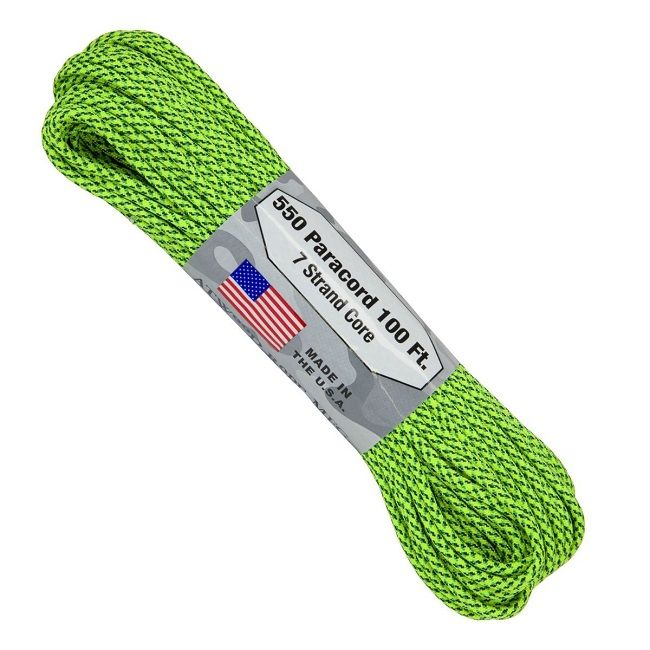 550 Paracord US Made GSA Compliant - Green Spec