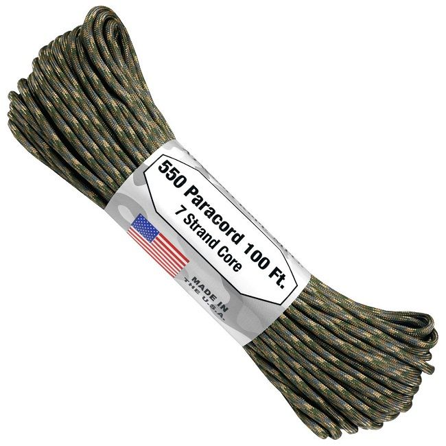 550 Paracord US Made GSA Compliant - Multicam