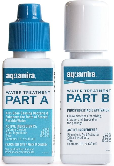 Aquamira Water Purification Drops