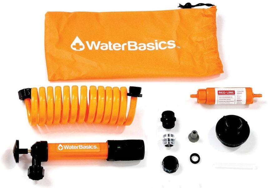 Aquamira Waterbasics Emergency Pump and Water Filter Kit