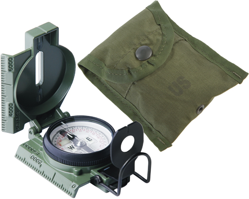 Cammenga G.I. Military Lensatic Compass (Model 27)