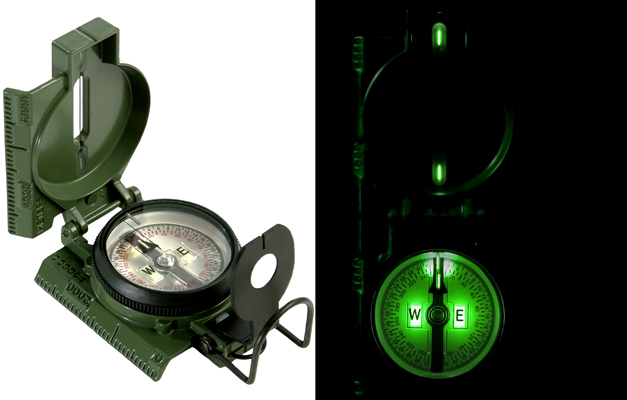 Cammenga G.I. Military Tritium Lensatic Compass (Model 3H)