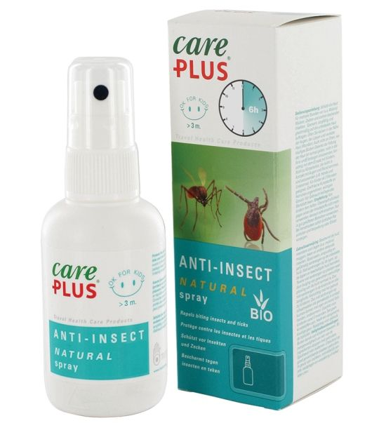 CarePlus Anti Insect - Natural Insect Repellent - 60ml Spray