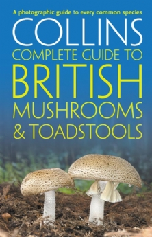 Collins Book - British Mushrooms and Toadstools: Essential Photographic Guide to Britain's Fungi