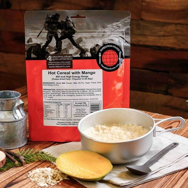 Expedition Foods Freeze Dried Rations - Breakfast - 450cal