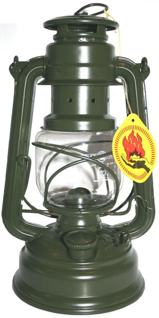 Feuerhand Storm Lantern - Military Green - The original German Lantern and the best.