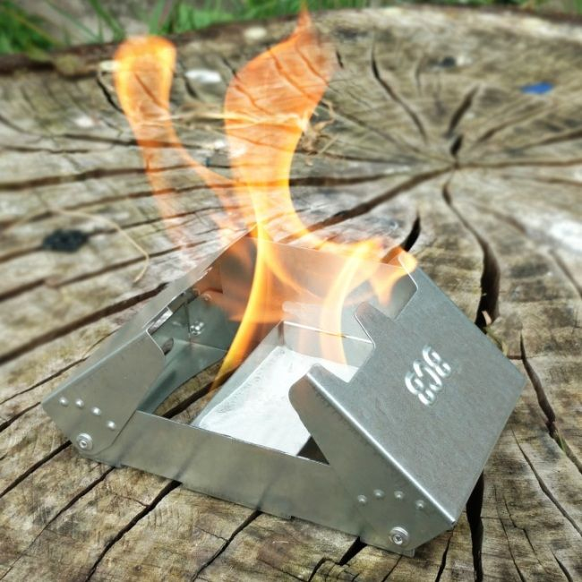 Fire Dragon Folding Solid Fuel Stove