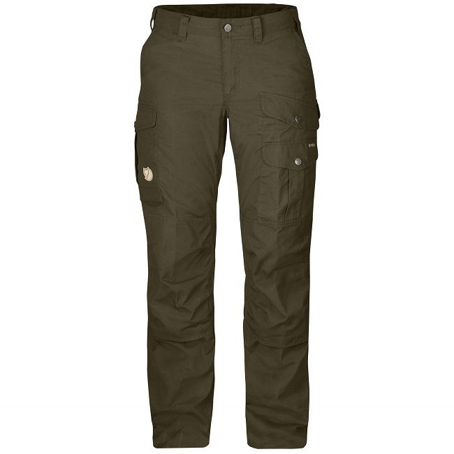 Fjallraven Barents Pro Trousers - W - Dark Olive (solid) -