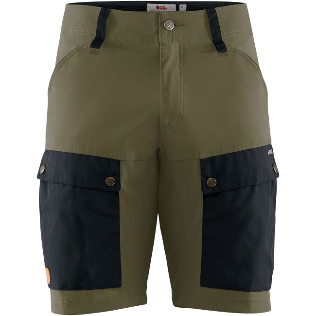 Fjallraven Keb Shorts - Dark Navy/Light Olive