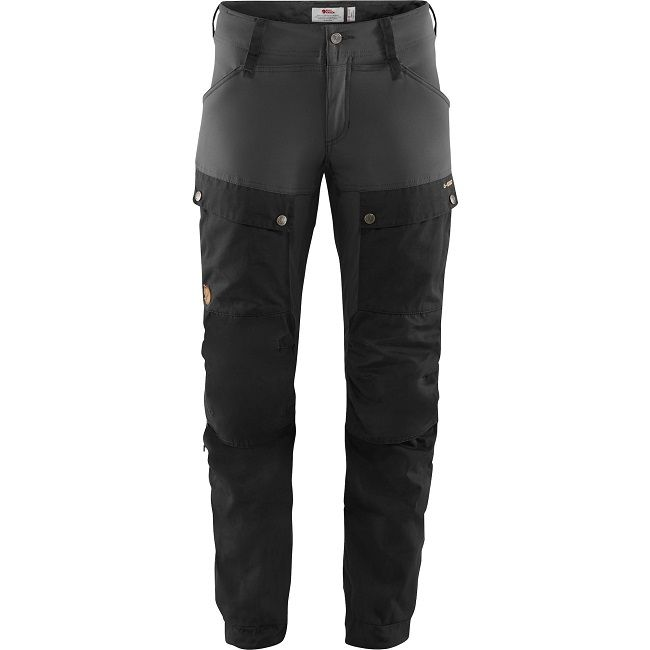 Fjallraven Keb Trousers  W - Black/Stone Grey
