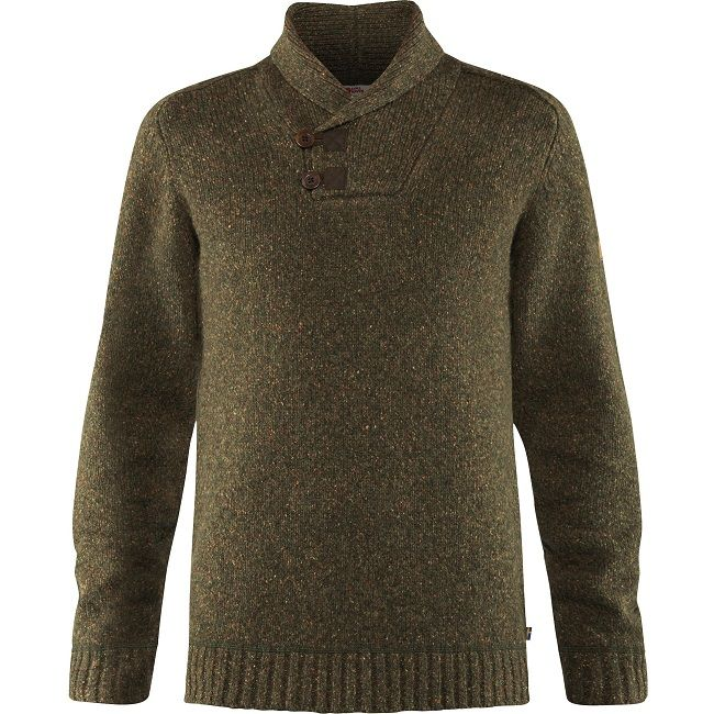Fjallraven Lada Sweater - Dark Olive
