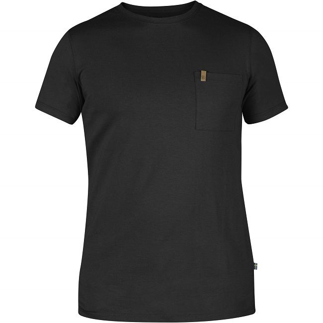Fjallraven Ovik Pocket T-Shirt - Dark Grey