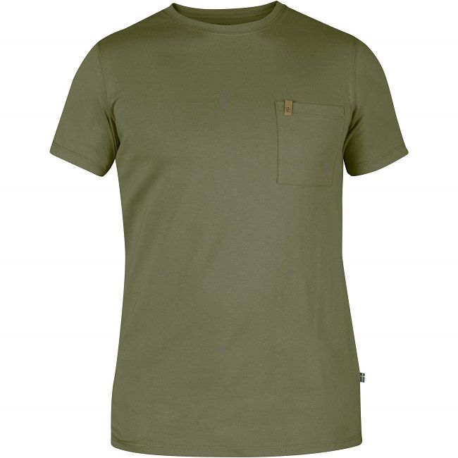 Fjallraven Ovik Pocket T-Shirt - Green