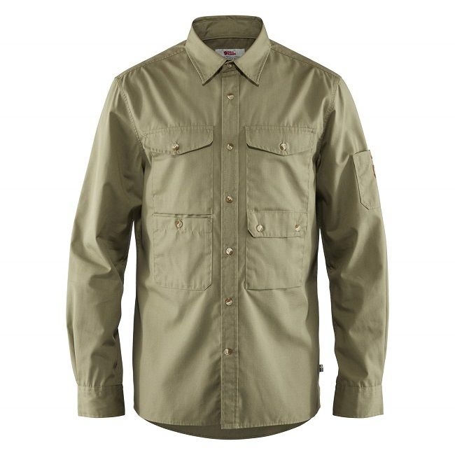 Fjallraven Ovik Shade Pocket Shirt - Green