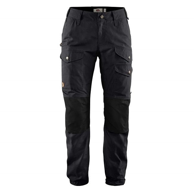 Fjallraven Vidda Pro Ventilated Trousers  W - Dark Grey/Black