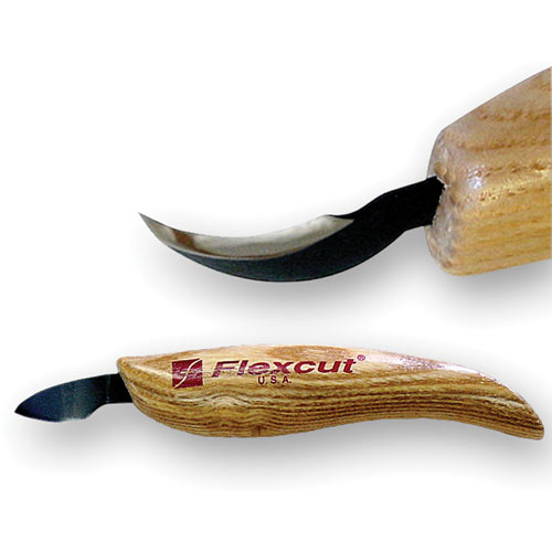 Flexcut Left Hand Hook Knife - Great carving tool for spoons or bowl's