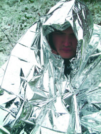 Foil Hypothermia Blanket - Nato Issue