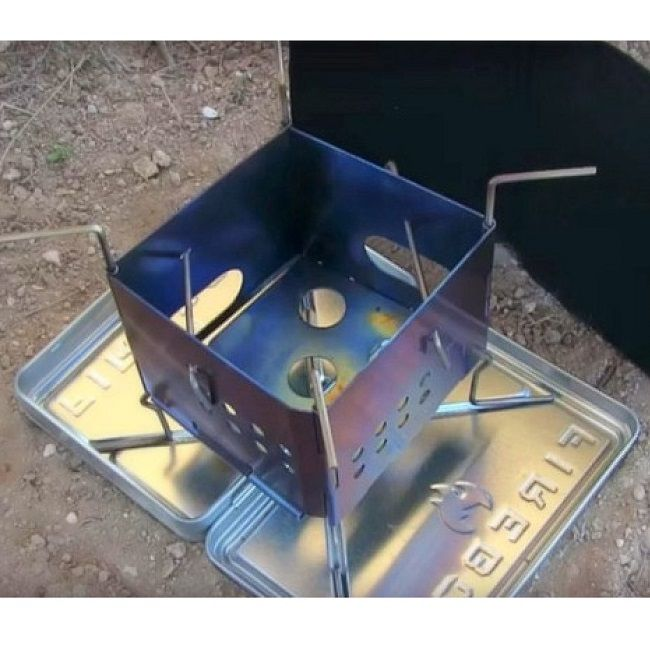 Folding Firebox Nano Stove (Gen 2) - X Case Kit - The Folding Fireboxes Little Brother!