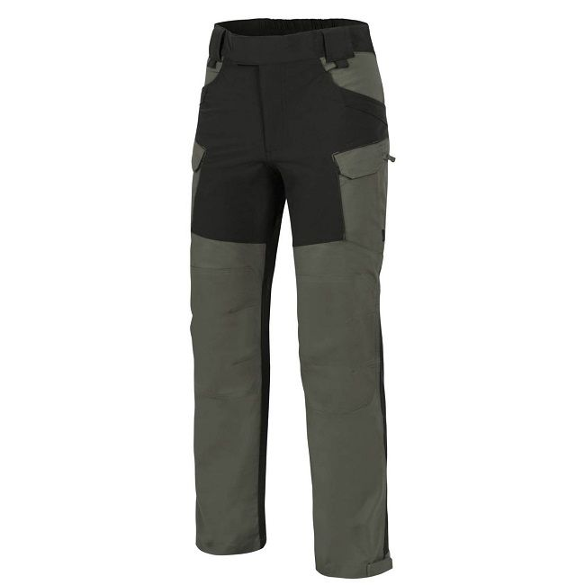 Helikon Hybrid Outback Trousers - Taiga Green & Black