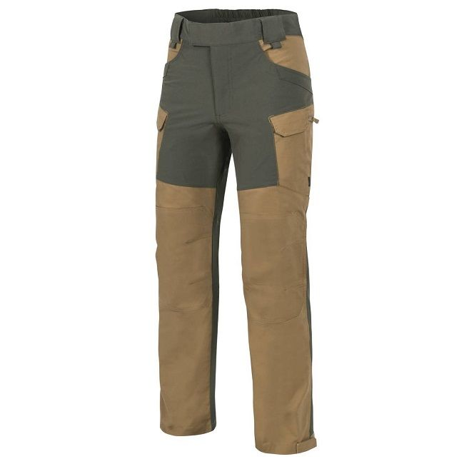 Helikon  Hybrid Outback Trousers - Taiga Green & Coyote