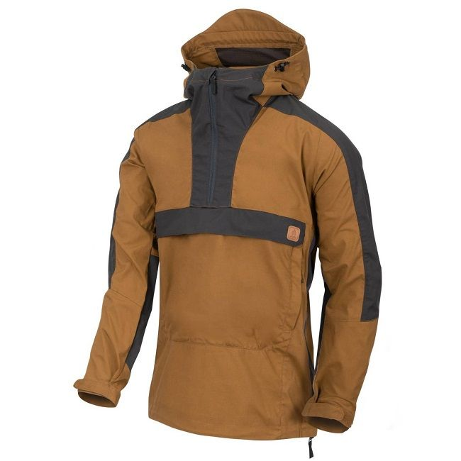Helikon Woodsman Anorak Jacket - Coyote & Ash Grey