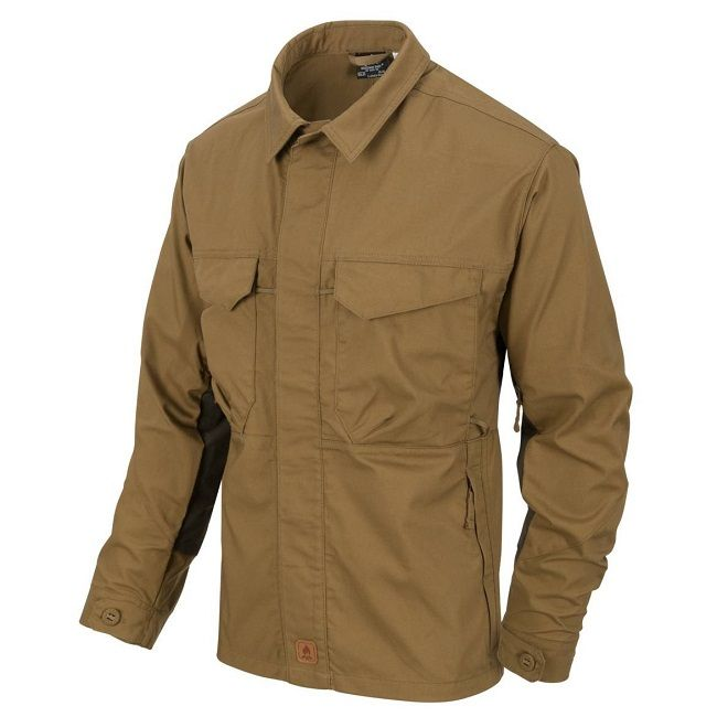 Helikon Woodsman Shirt - Coyote/Taiga Green