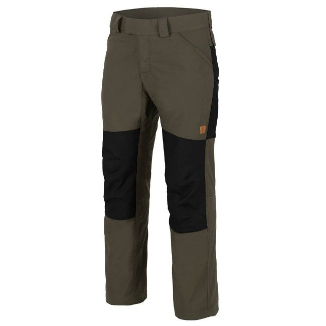Helikon Woodsman Trousers - Taiga Green/Black