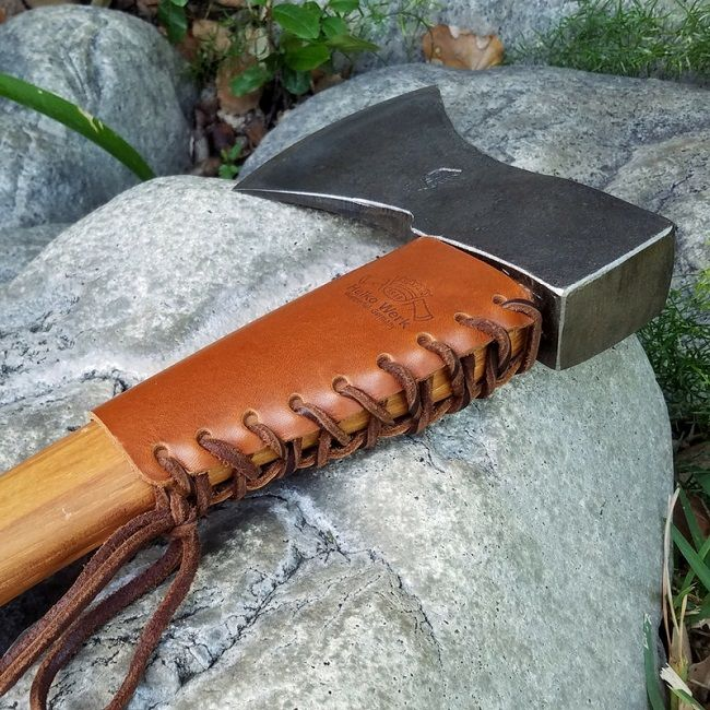 Helko Leather Axe Handle Protector