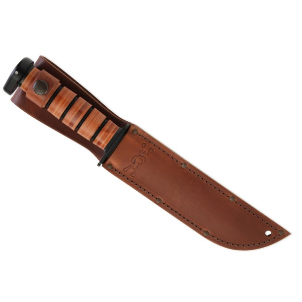 KA-BAR Utility Knife Sheath - Leather or Kydex