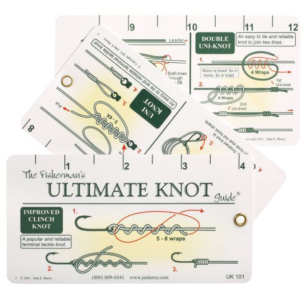 Knot Cards by Pro Knot - Fishermans Ultimate Knots