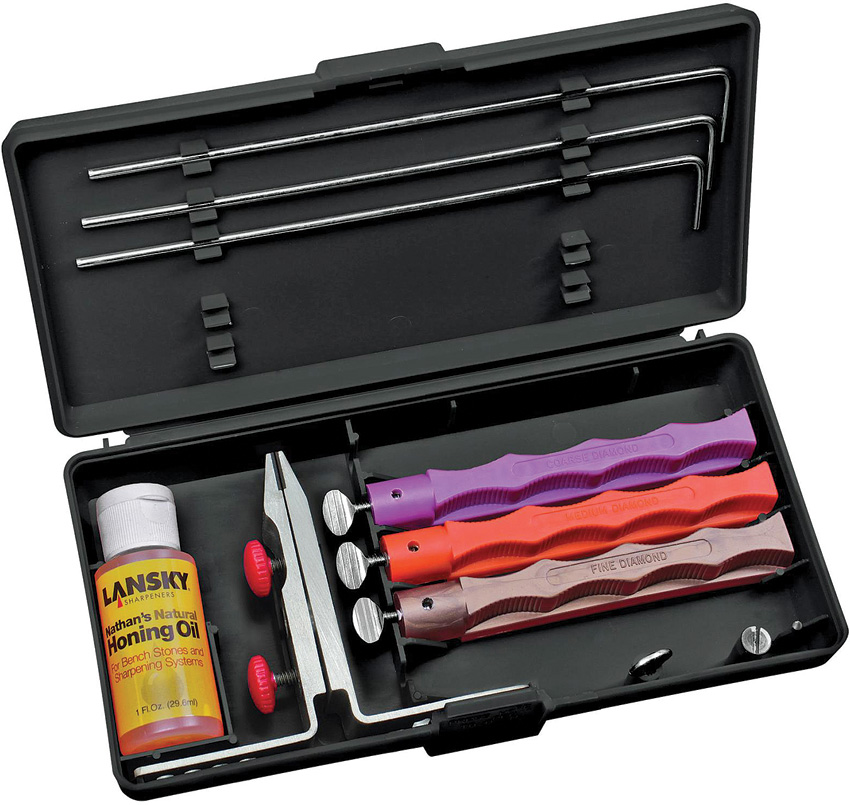 Lansky Diamond Knife Sharpening System