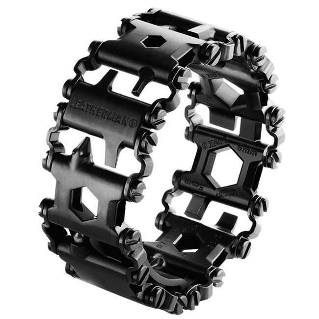 Leatherman Tread Wearable Multitool - Black Stainless