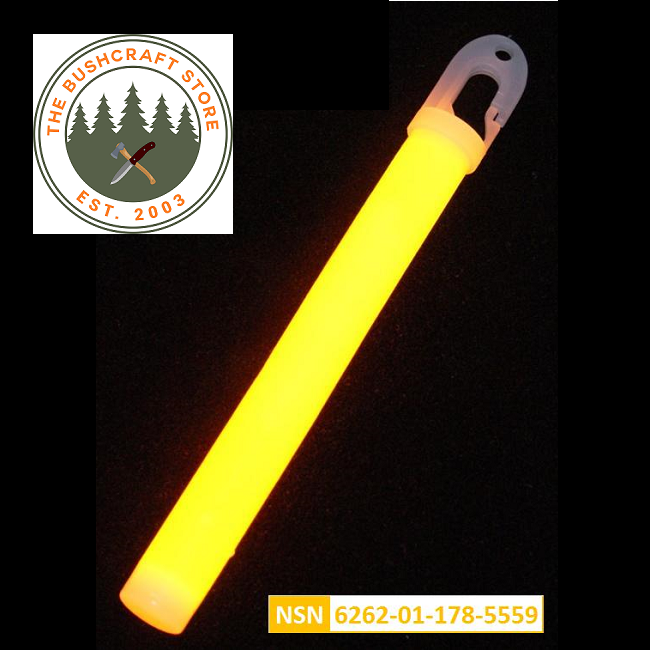 Lumica Military Issue Safety Light Sticks - Orange - Singles, 5's or 10's