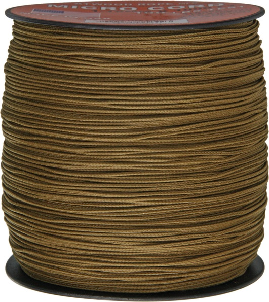 Micro Cord - 1.18mm Micro Paracord - 1000 Feet Reel