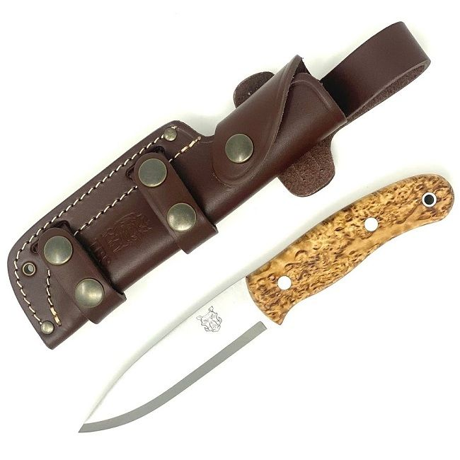 Mk II TBS Boar Bushcraft Knife - Curly Birch