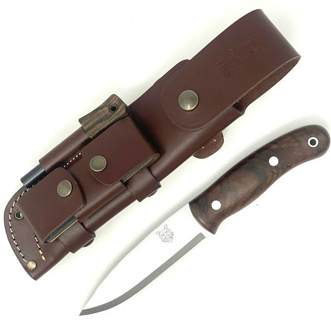 Mk II TBS Boar Bushcraft Knife - Full Cover Multi Carry Sheath Edition - TW