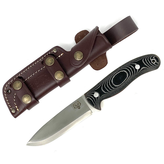 Mk II TBS Timberwolf Bushcraft Knife - Black Micarta