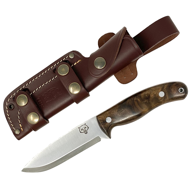 Mk II TBS Timberwolf Bushcraft Knife - Turkish Walnut