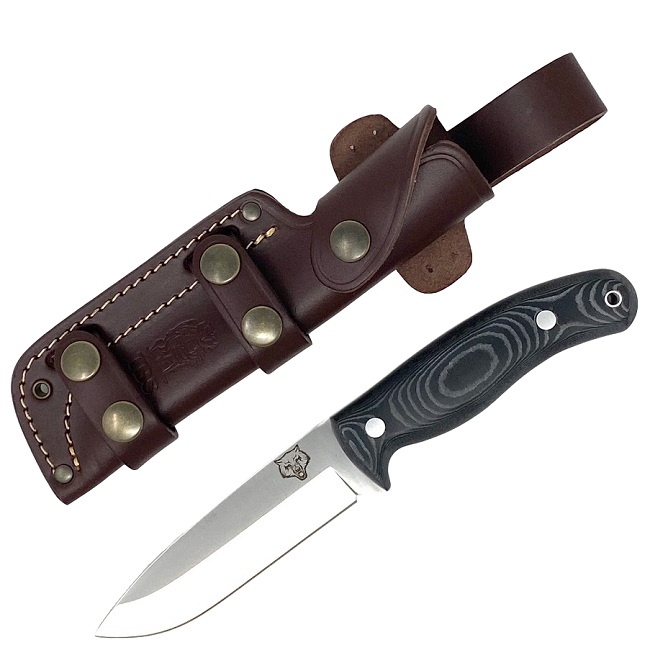 Mk II TBS Timberwolf Camp Knife - Black Micarta