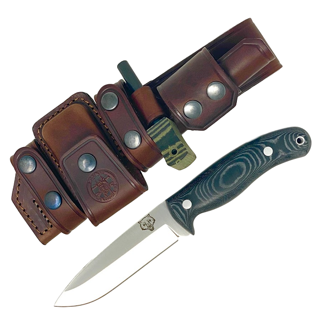 Mk II TBS Timberwolf Camp Knife - DeLuxe Sheath Edition - BM