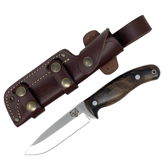 Mk II TBS Timberwolf Camp Knife - Turkish Walnut