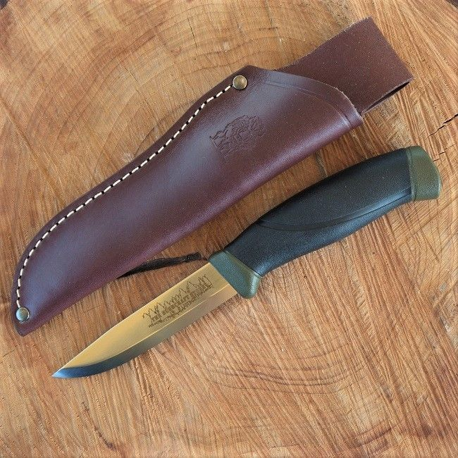 Mora Knife with TBS Leather Standard Sheath - Wide choice of Mora Knives available