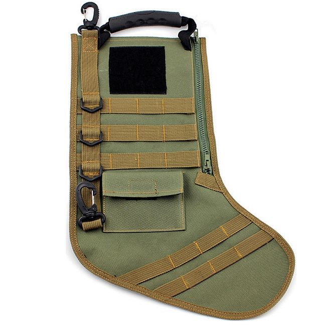 Tactical Christmas Stocking.Novelty Tactical Christmas Stocking