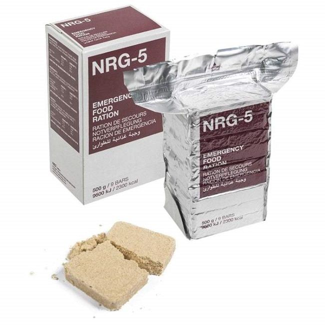 NRG-5 Emergency Food Ration - 2300 Calories per pack