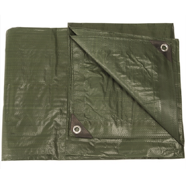 Olive Drab Tarp Groundsheet - Available in a great range of sizes